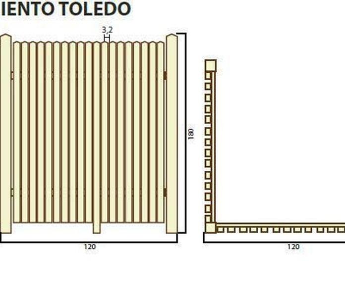 Cerramiento Toledo: ¿Qué podemos ofrecerte? de CM PLASTIK RECYCLING