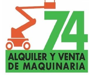 Maquinaria para obra pública y construcción: Servicios de Alquiler y venta de maquinaria 74, S.L.
