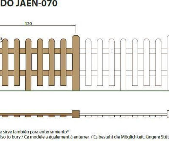 Vallado Jaén 070: ¿Qué podemos ofrecerte? de CM PLASTIK RECYCLING SL