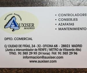 Galería de Controladores en Madrid | Auxiser Madrid Servicios Auxiliares