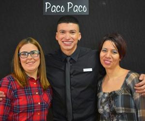 Formación con Paco Paco Madrid.