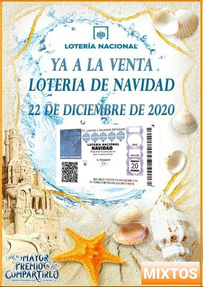 Venta Lotería Navidad 9 de Julio 2020
