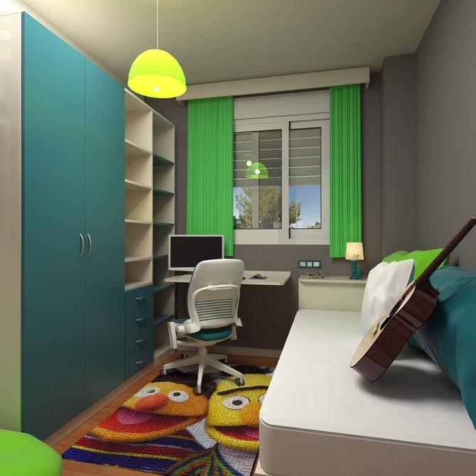 Cómo personalizar una habitación juvenil