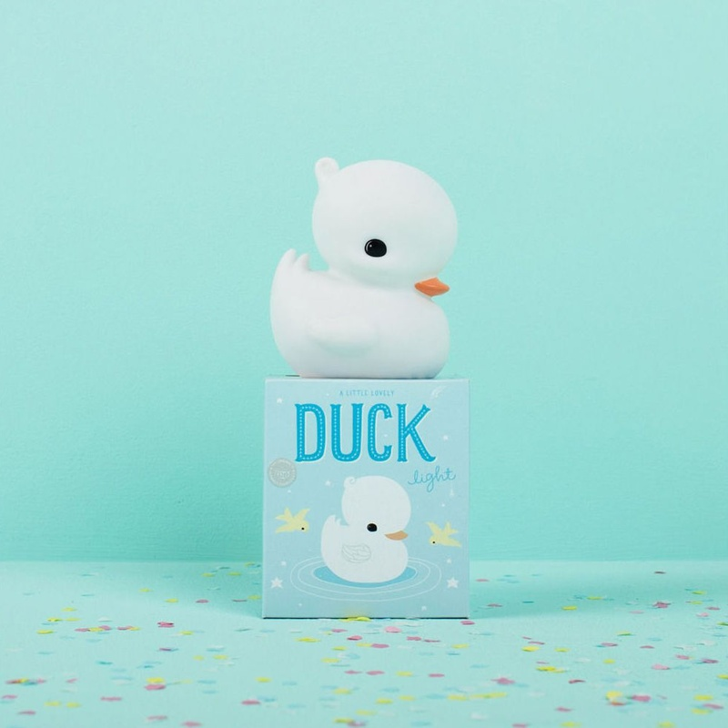 Mini Luz Pato Blanco A Little Lovely Company: Productos de Mister Baby