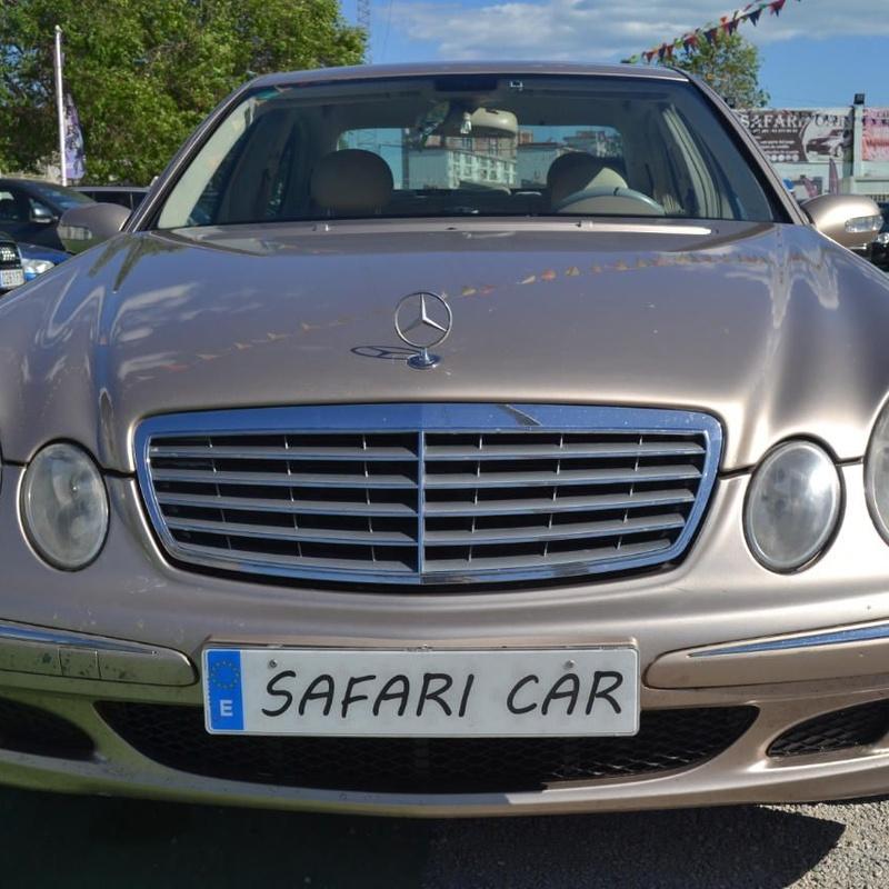 Mercedes-Benz E 270 CDI: Nuestros coches de Safari Car