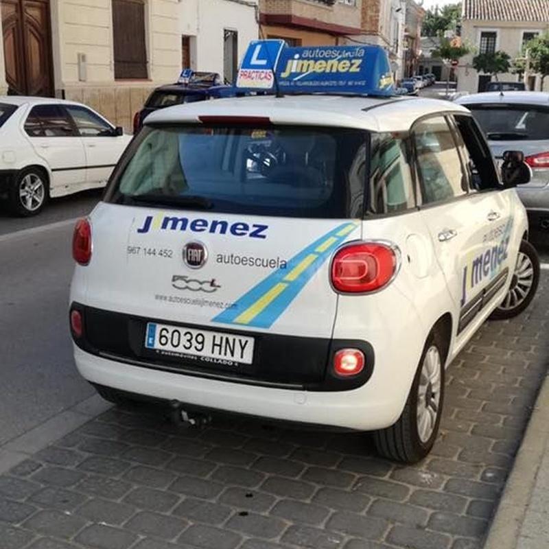 Turismos y furgonetas: Permiso de conducir de Autoescuela Jiménez