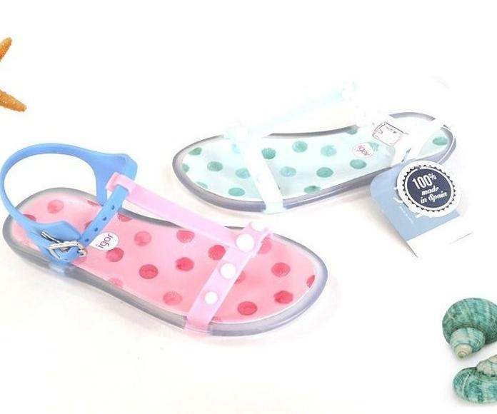 Mod:sandalia agua perlas.Del 28 al 36