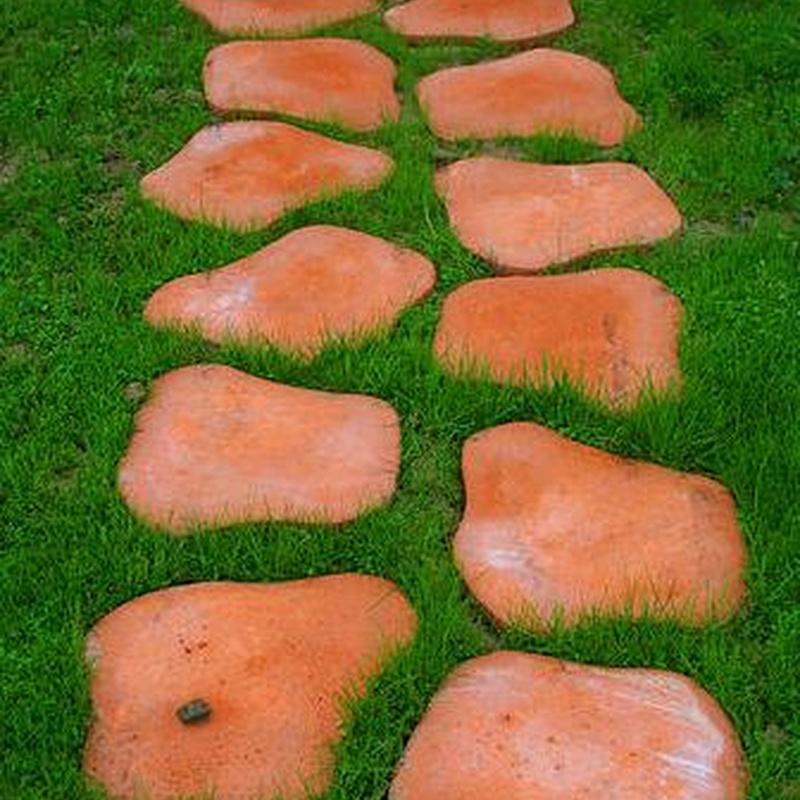Colocación de:: Productos y Servicios de Jardines Patxi Lorategiak