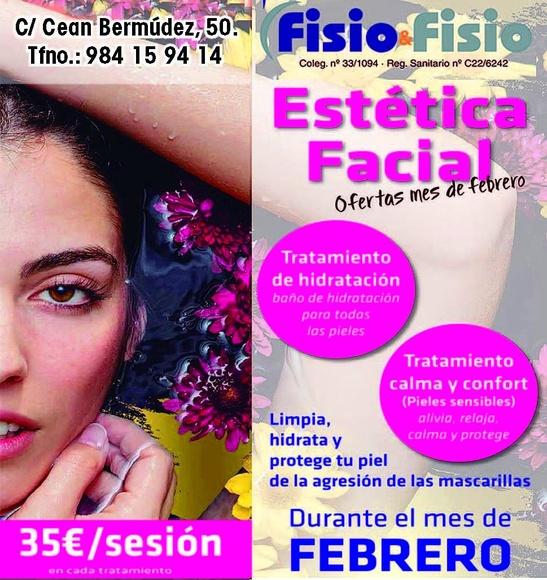 Oferta Estética Facial Febrero: Servicios de Fisio&Fisio