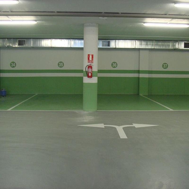 MC Cote (Pintado): Sistemas de A-Floor