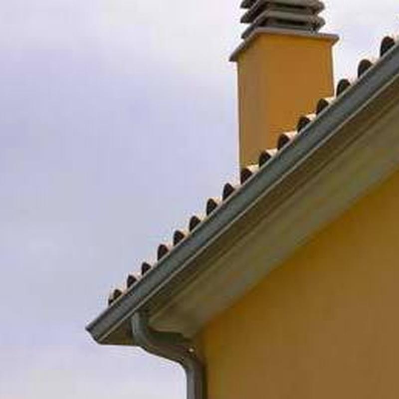 Instalación y reparación de canalones de aluminio: Servicios de Luma Canalón