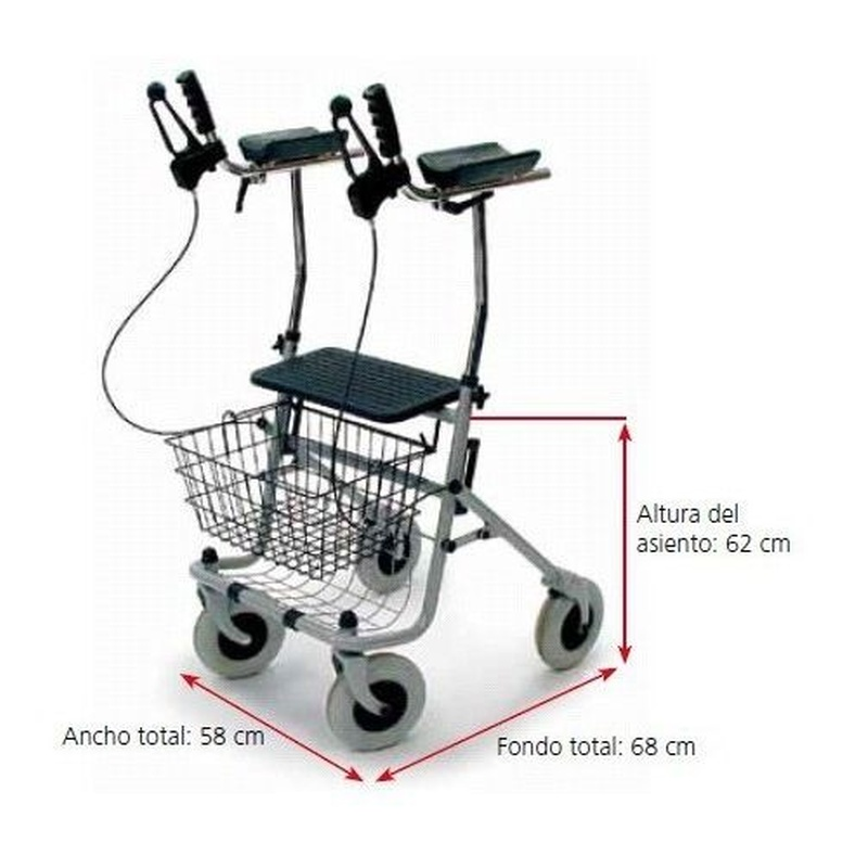 Caminador polivalente artris: Productos de Ortopedia Hospitalet