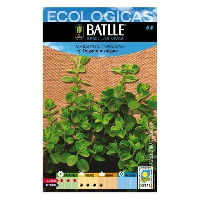 Semillas ecológicas de Orégano Ref.8