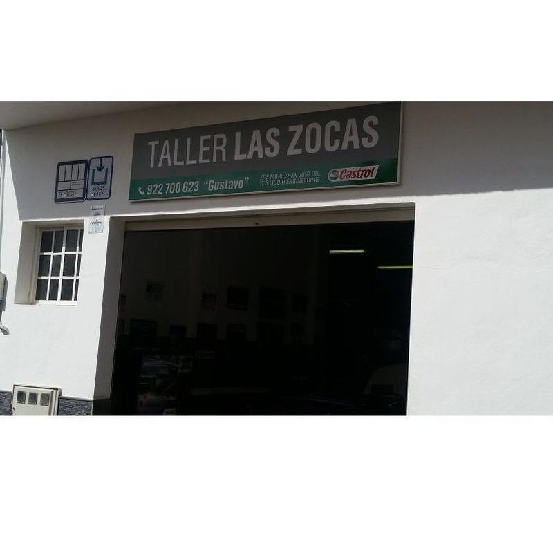 Aire acondicionado: Servicios de Taller Las Zocas
