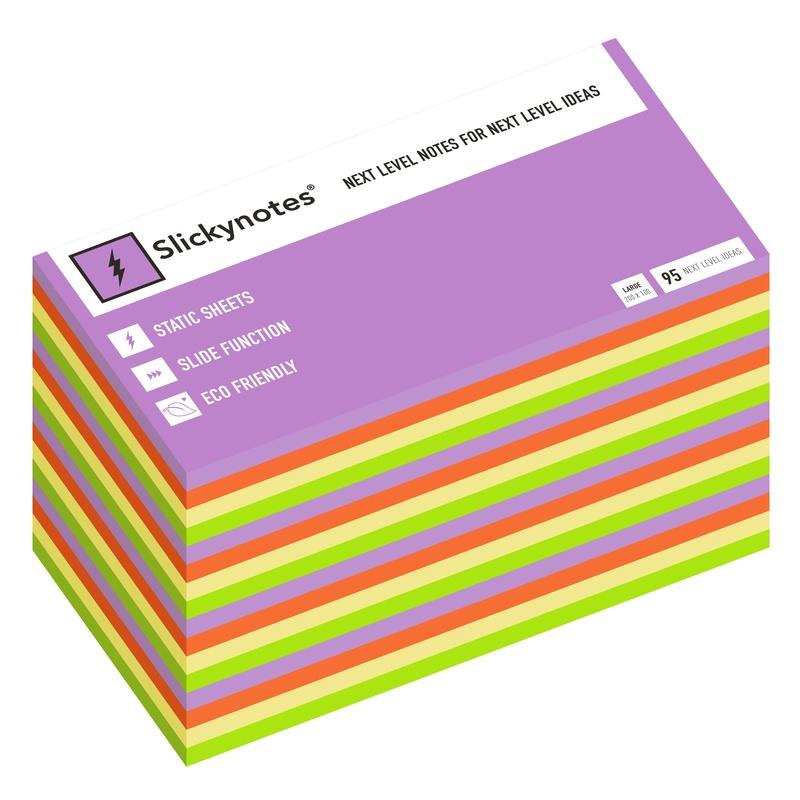 NL-16A - Pack 16 Slickynotes 200x100 mm Colores: Productos y Servicios de Rosan