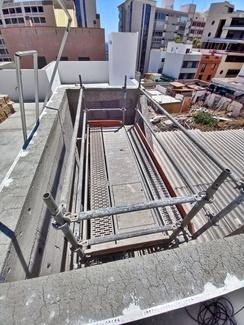 Rehabilitación de patios interiores. Calle La Rosa. Santa Cruz de Tenerife.