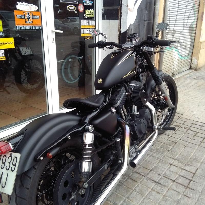 Customizacion motos en Valencia, personalización de motos