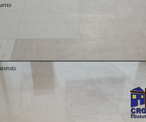 Floor polishing and brightening