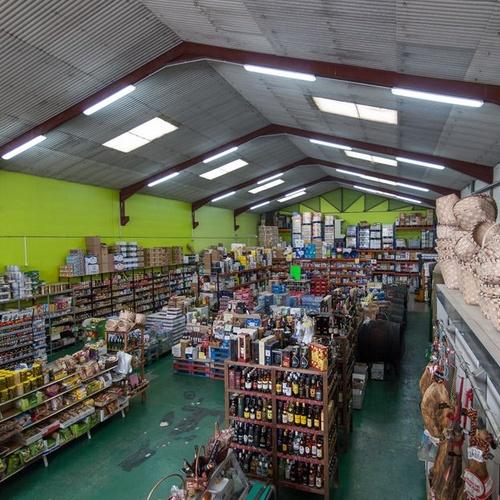 Interior de nuestro autoservicio en Aguilar de Campoo