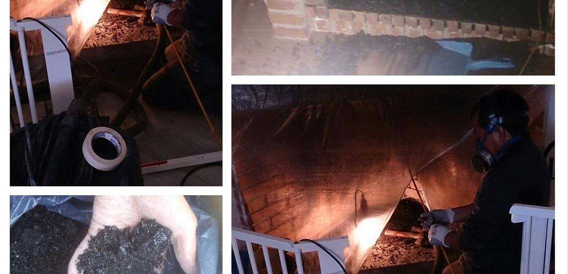 Limpiamos el exceso de hollin de tu chimenea en Collado Villalba