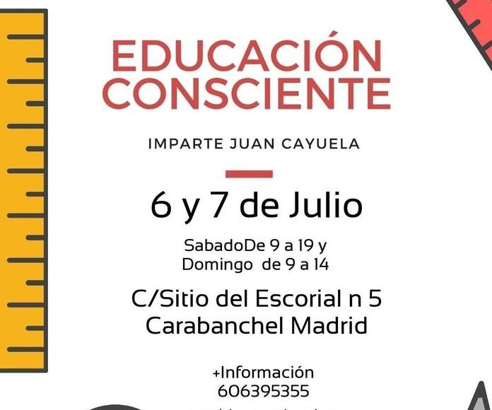 TALLER BIOCONSCIENCIA JUAN CAYUELA MADRID