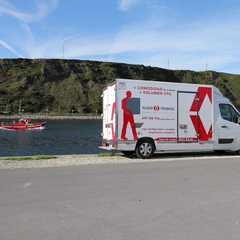Alquiler camiones frigoríficos Asturias