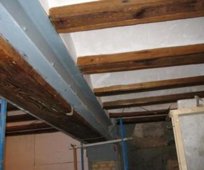 Tratamiento de la madera: Servicios de Ignifoc Aislamientos Integrales
