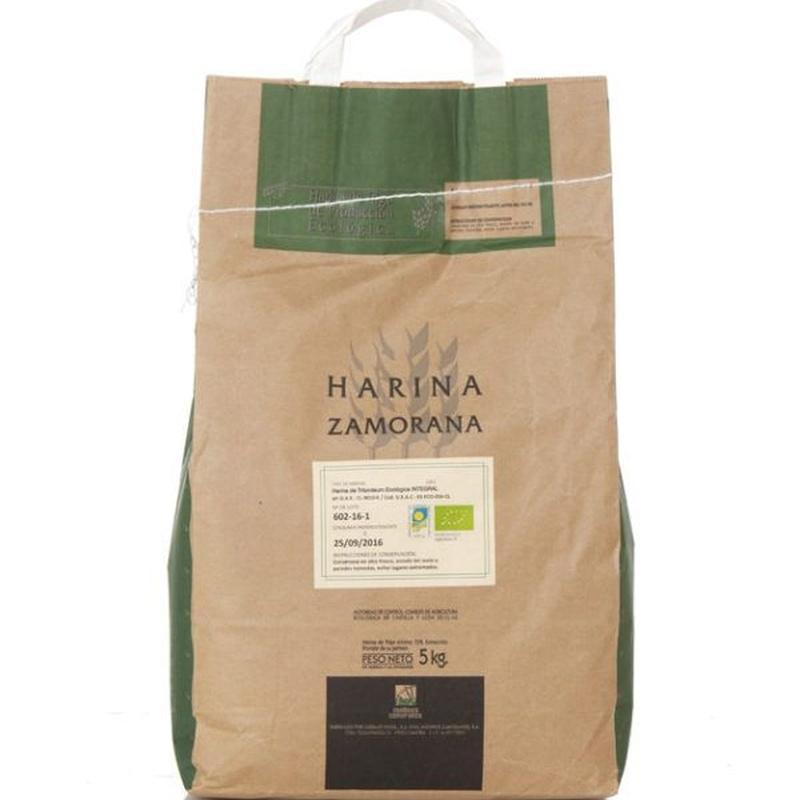 Harina de tritordeum ecológica integral 5 kg: Productos de Coperblanc Zamorana