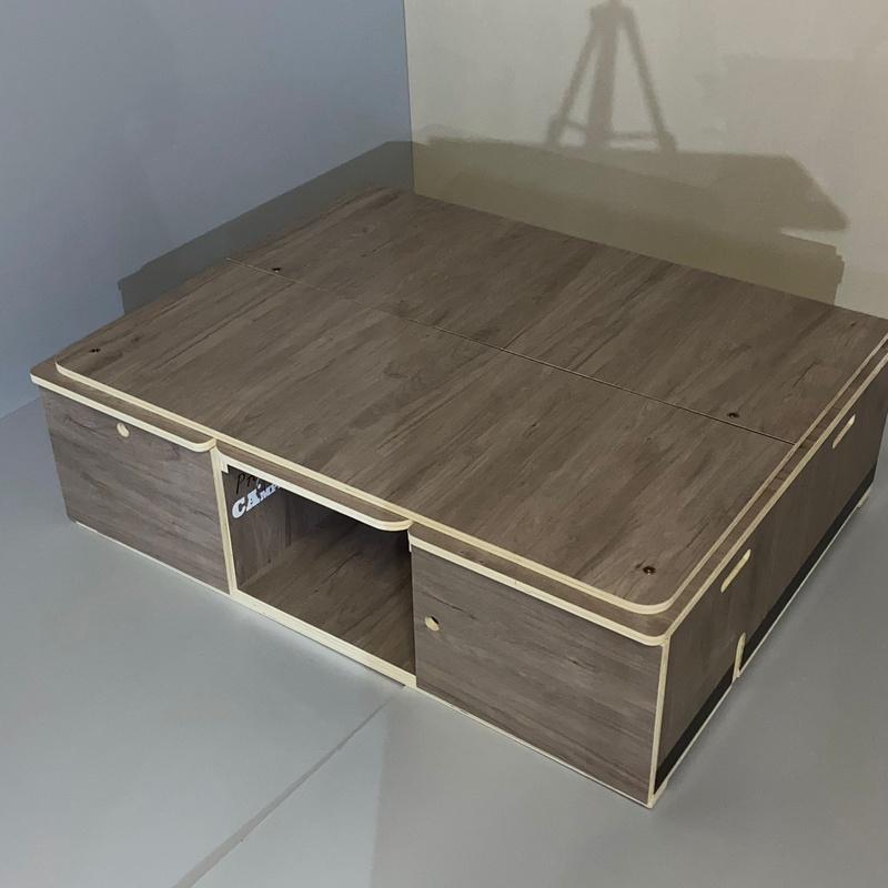 Mueble Salón-Cama S (Hasta 115x80x32cm): Productos de Pasión Camper