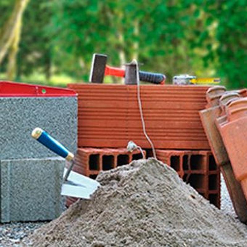 Materiales de construcción: Productos y servicios de Almacenes Xesteira
