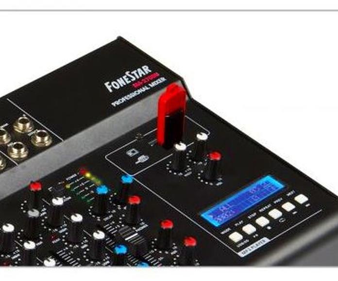 MESA DE MEZCLAS SM-2700U: Nuestros productos de Sonovisión Parla