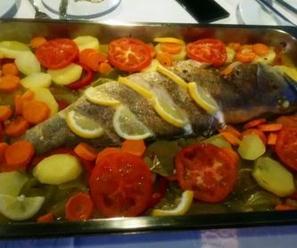 Pescados: Nuestras especialidades de Restaurante Lago Verde