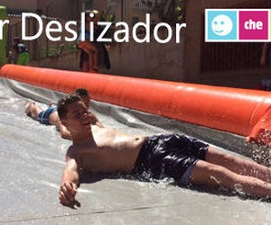Hinchable super deslizador