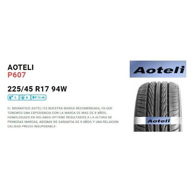 Neumáticos 225-45-R17: Neumáticos   de Neumáticos  Baratos Valencia