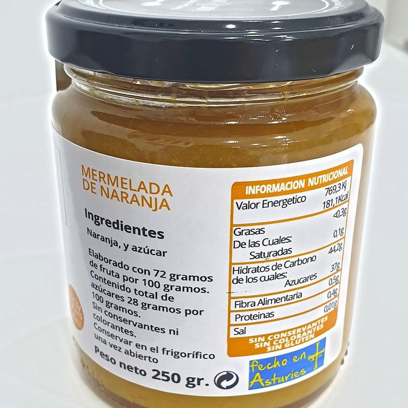 Mermelada de naranja en Madrid