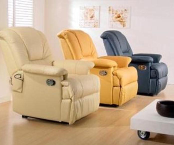 Sofá y sillón relax: Catálogo de Mobles La Gavarra