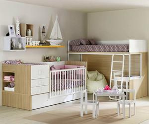 Dormitori infantil per compartir