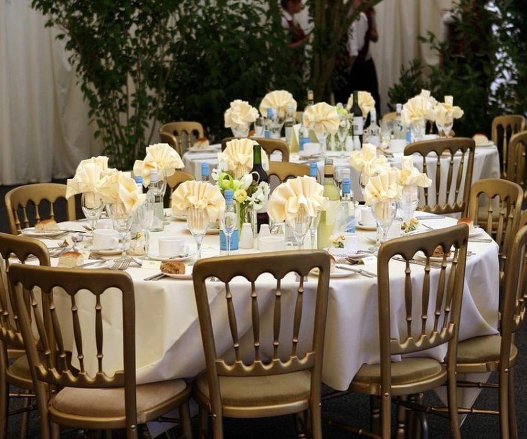 Una gran variedad de modelos de sillas para acomodar a tus invitados