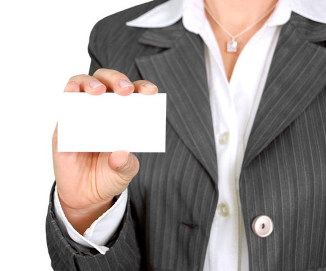 Claves para un buen diseño de tu tarjeta profesional