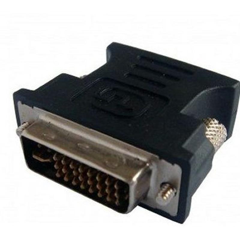 L-link Adaptador VGA(H) - DVI (M) 24+5: Productos y Servicios de Stylepc