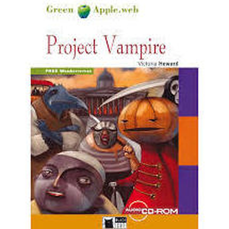 PROJECT VAMPIRE BOOK + CD