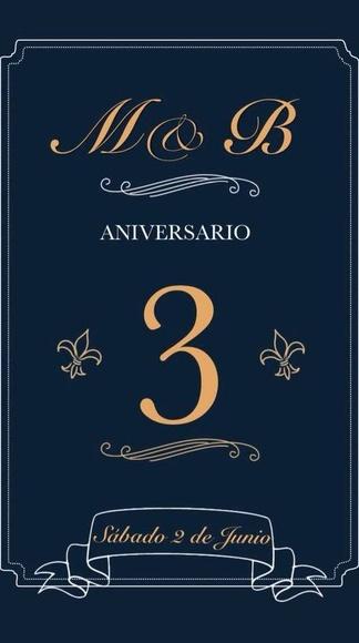 3º aniversario