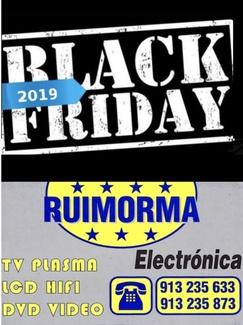 Black Friday en RUIMORMA reparación de televisiones en Plaza de Castilla
