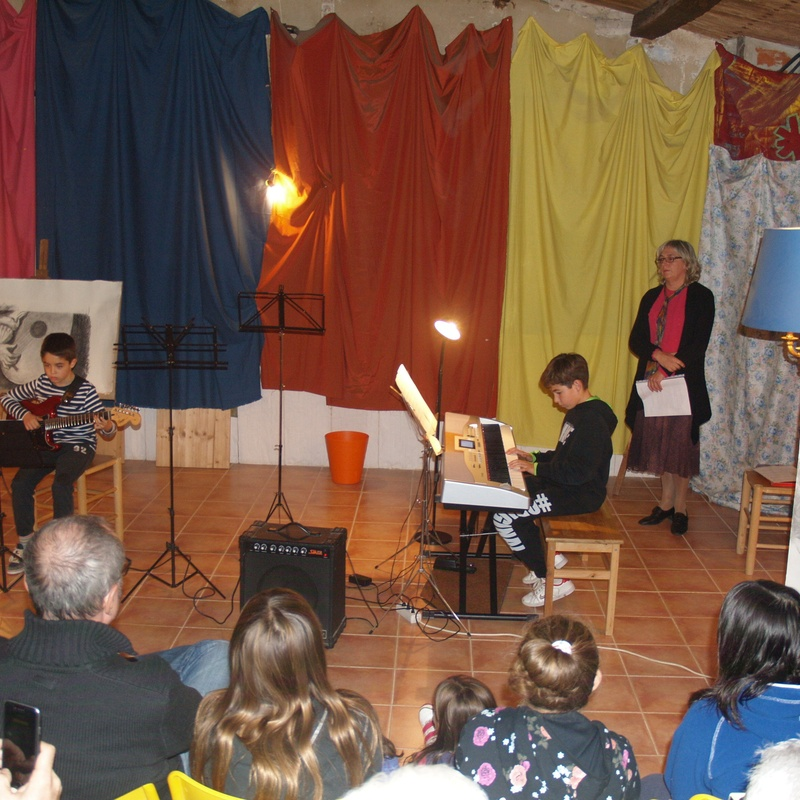 "Cicle ""Música en el temps"" La música del barroc : Escuela de música i Expresión  de  Can Canturri"