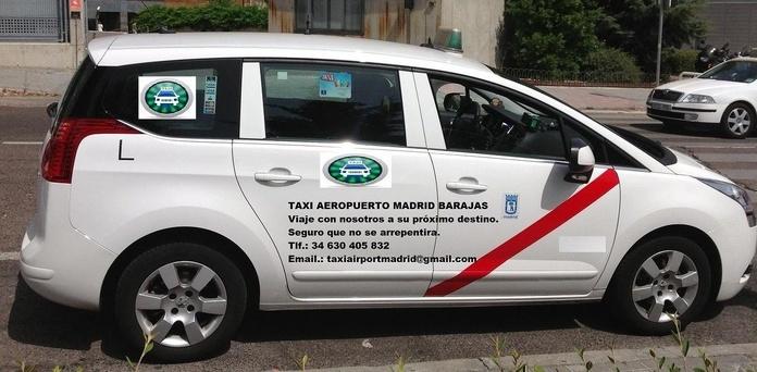 TAXI  BOADILLA AEROPUERTO MADRID BARAJAS