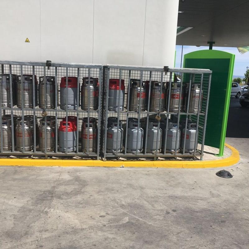 Venta de bombonas de butano: Servicios de Estación de servicio BP Bencir