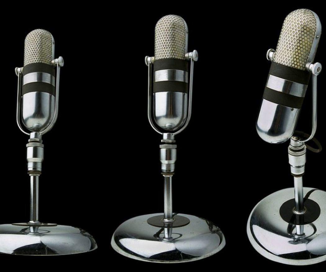 La historia del micrófono
