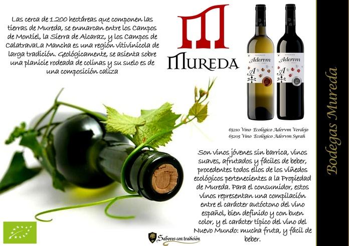 "Vinos "" Bodegas Mureda "": Productos de Sabores con tradición"