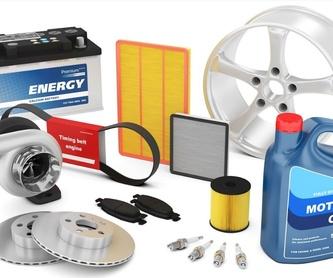 Aceite y filtros: Productos y servicios de RECAMBIOS Y ACCESORIOS MUNGIA