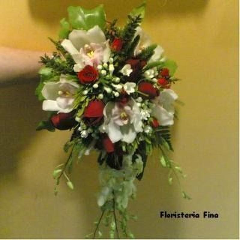 Bodas: Surtido floral de Floristería Fina